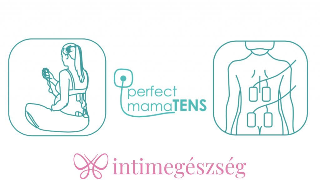 TensCare perfect mamaTENS a szülési fájdalom természetes csillaptására
